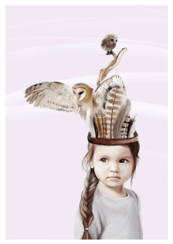 Little Sofia Print - Children's wall art - $69 - $129 |The Home Maven