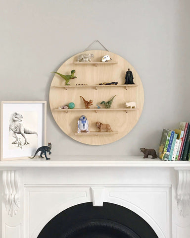 One Two Tree Circle timber treasure board - Children's wall decor  |The Home Maven