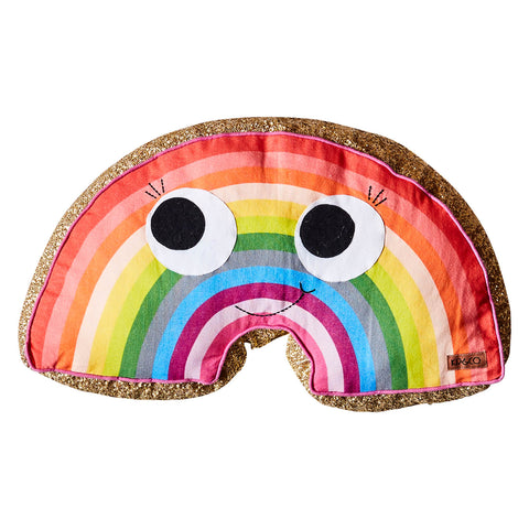 Kip ans co rainbow sequin cushion | The Home Maven