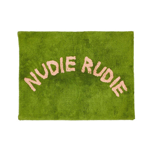 Sage and Clare Nudie rude bath mat pickle | The Home Maven