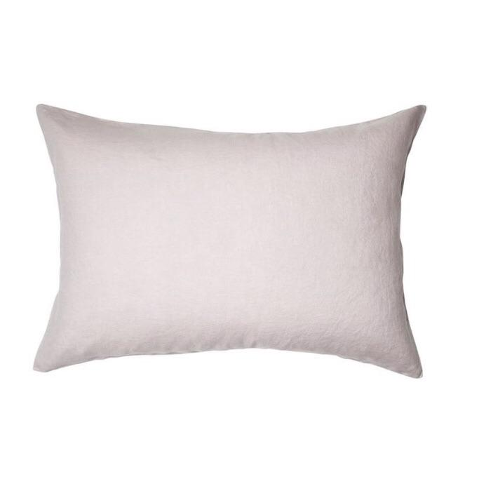 Sage and clare French Linen lilac pillowcase| The Home Maven