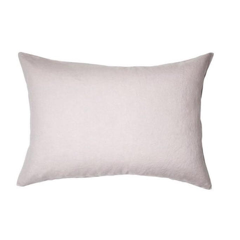 Sage and clare lilac linen pillowcase set | The Home Maven