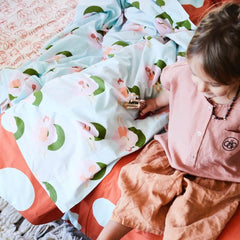 Sage and Clare poco fitted kids sheet | The Home Maven