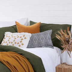 Sienna Velvet Cushion |Homewares $44.95 |The Home Maven