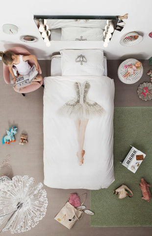 Snurk Quilt Cover - Ballerina - Children's bedding -  $125 |The Home Maven