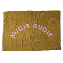 Taffy Nudie Towel Beach Bath Sage and Clare Pear |The Home Maven