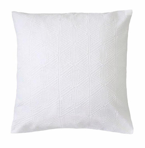 White Cotton Quilt Cover - Orana - Adult Bedding-My House Loves