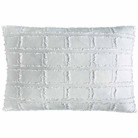 Eddie bedu white rectangle cushion |The Home Maven