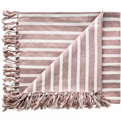 Eadie coitier musk linen throw / picnic blanket |The Home Maven