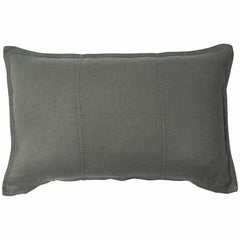 eadie luca linen feather insert khaki square cushion |The Home Maven
