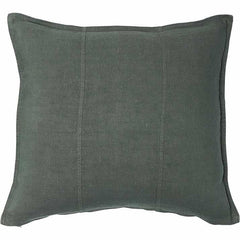 eadie luca linen feather insert khaki rectangle cushion |The Home Maven