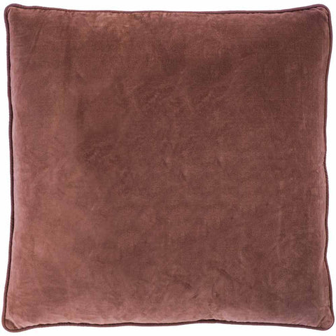 Eadie plush Lynette Velvet Cushion - Desert Rose - $89.95 |The Home Maven