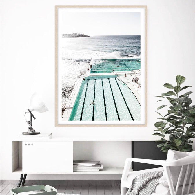 Love your space Bondi Icebergs I - Photographic Print - $35 - $119 | The Home Maven