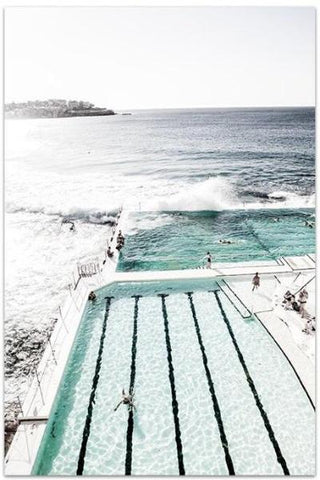 Love your space Bondi Icebergs I - Photographic Print - various sizes| The Home Maven
