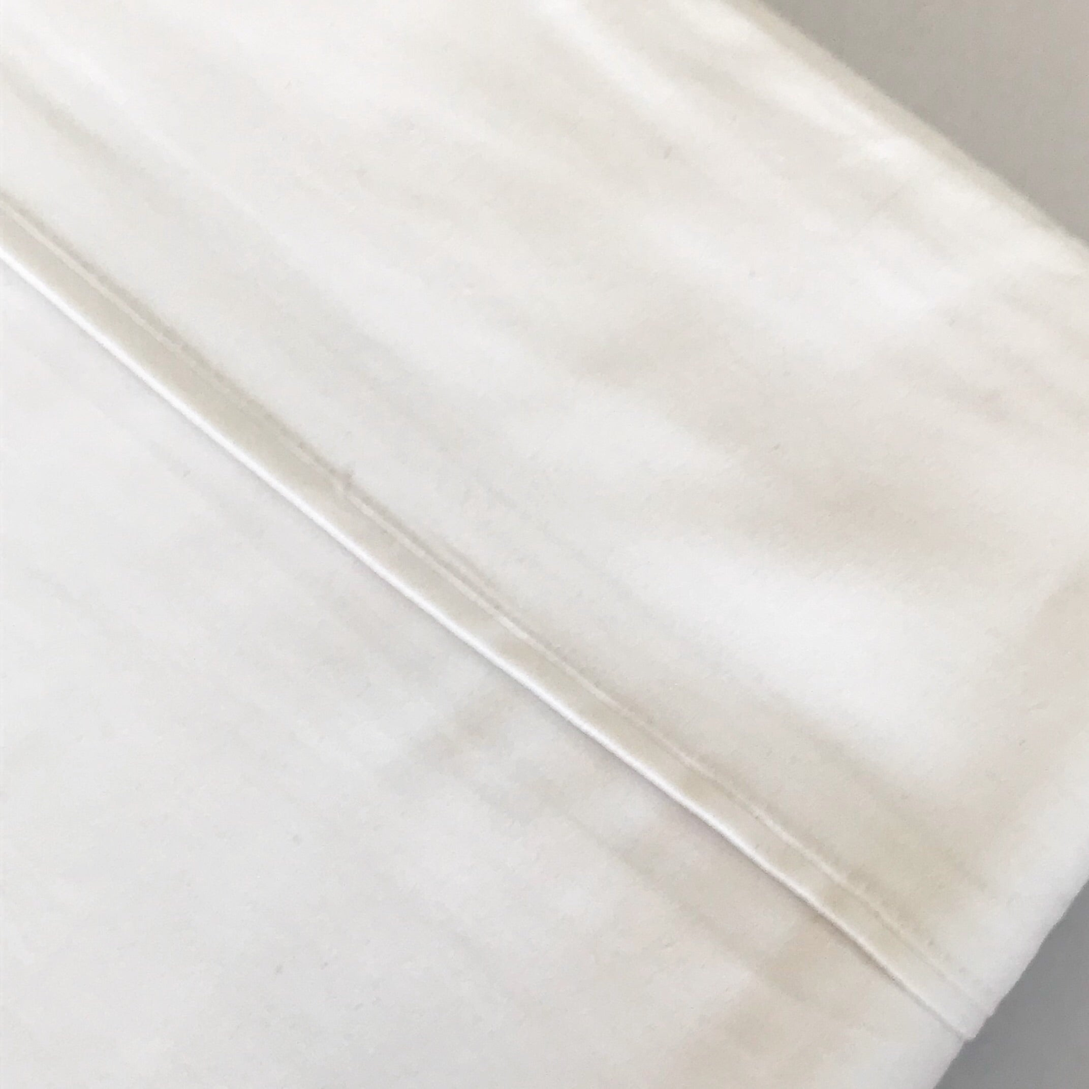 Cotton Sateen Sheet Sets - White - Adult Bedding $109.95 - My House Loves