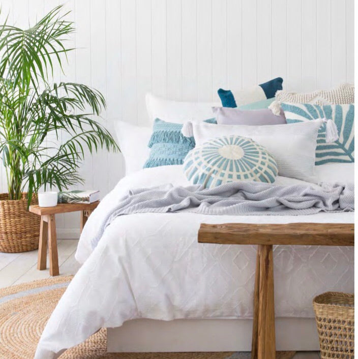 Cotton Quilt Cover - White - Bedding - $124.95 - $159.95 |My House Loves