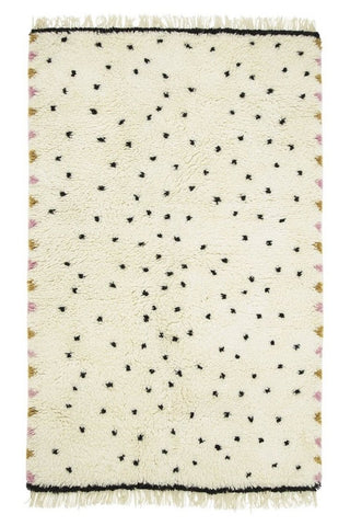 Leopard spot wool shag rug | Various sizes |The Home Maven