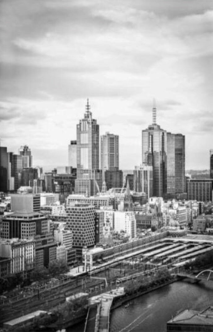 Melbourne I - Photographic print - $39.95 - $129.95 |My House Loves