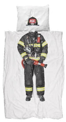 Cotton Quilt Cover Set - Firefighter
