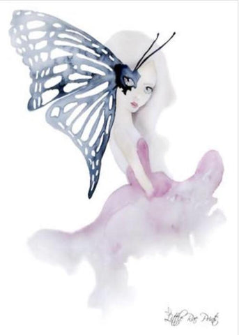 Madame Butterfly- Children's wall art - $30 - $85 |My House Loves