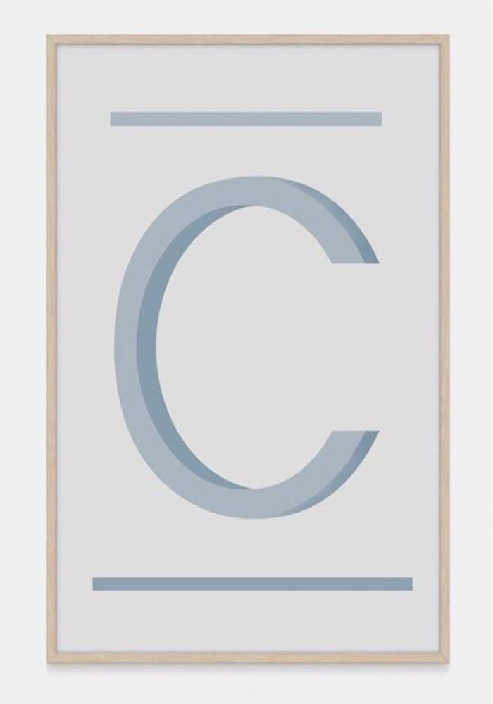 ABC Art Prints - Teal C -  Children's wall art $49 - $140 |My House Loves