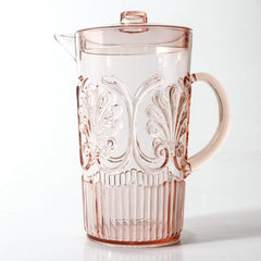 Indigo love acrylic jug pale pink | The Home Maven