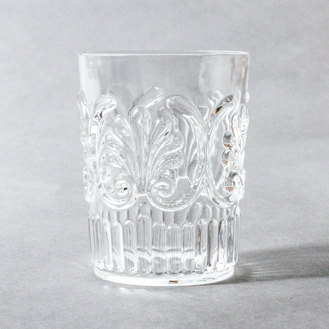 indigo love tumbler acrylic clear |The Home Maven