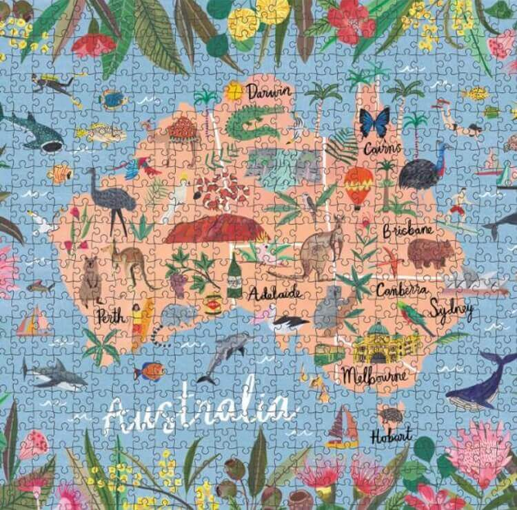 Journey of Something |1000 piece Adult jigsaw puzzle - Australia |$58 |The Home Maven