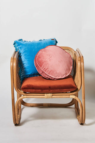 Kip and co velvet clay pea cushion - The Home Maven