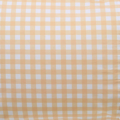 Kip and co Gingham cotton fitted sheet | The Home Maven