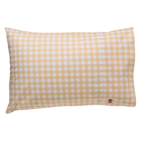 Kip and co gingham cotton pillowcase | $35 | The Home Maven