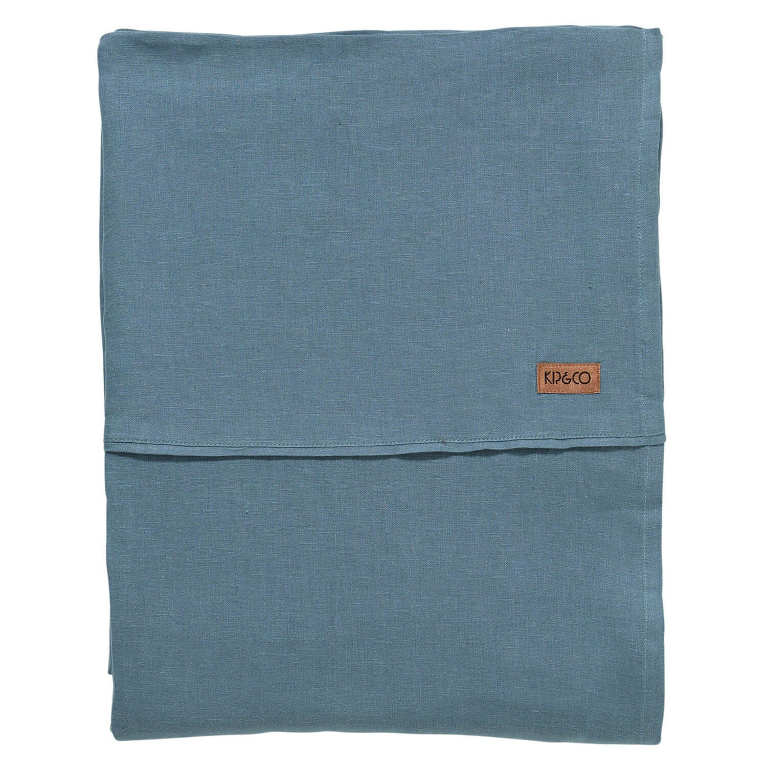 Kip and co Slate French linen fitted sheet | The Home Maven
