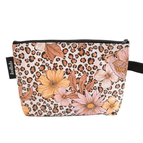 kollab leopard floral clutch | The Home Maven