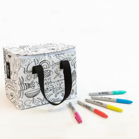 kollab holiday colour in and sharpie set lunch bag | The Home Maven