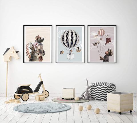 Linn wold Little Noah kids wall art |The Home Maven