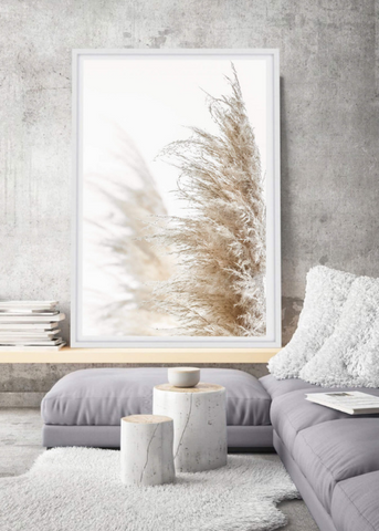 Pampas grass photographic print | Various sizes | The Home Maven