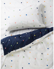 more than ever spots and dots reversible quilt cover | The Home Maven
