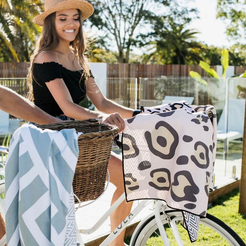 sky grazer sand free beach towel Brighton | The Home Maven