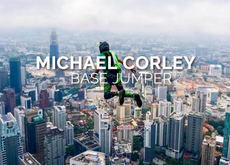 Der BASE Jumper