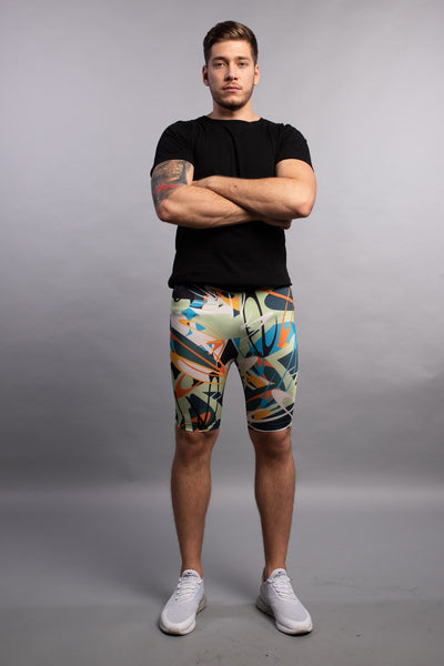 »Electric Graffifi Shorts«