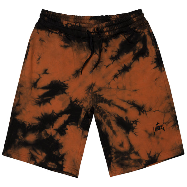 Lanee Clothing Streetwear FIRE SWEATSHORTS