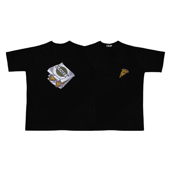 Lanee Clothing Streetwear LANEExSIEMOR PIZZA BLACK