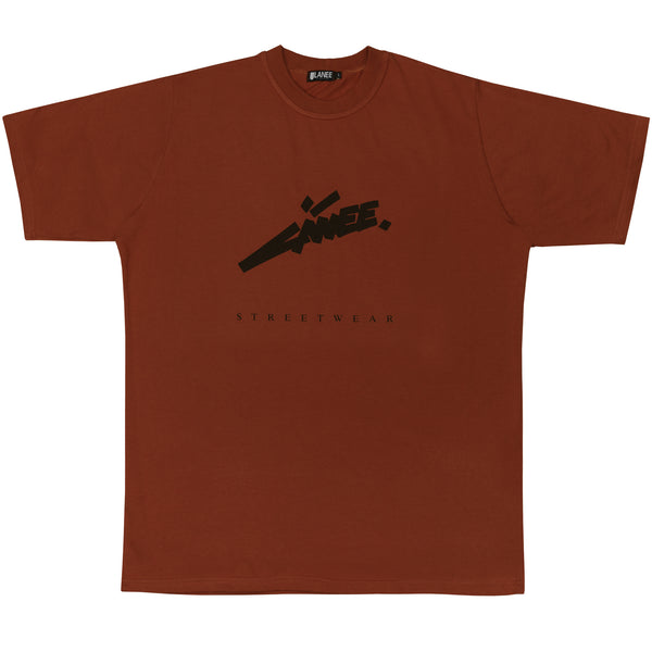 Lanee Clothing Streetwear ORANGE MAROON FUTURE TEE
