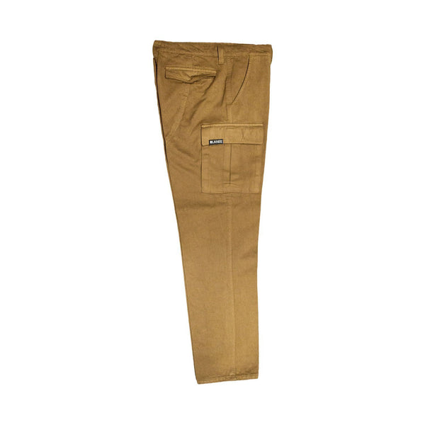 Lanee Clothing Streetwear TAWNY BROWN CARGO PANTS 19