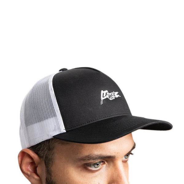 Hats - BRXLANEE B&W TRUCKER HAT