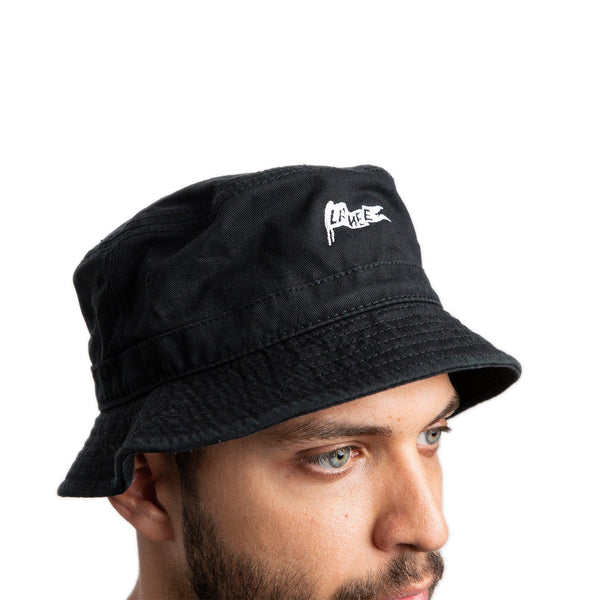 Hats - BRXLANEE BLACK BUCKET HAT