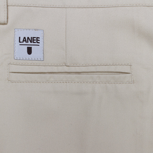 Lanee Clothing Streetwear BEIGE SHORTS