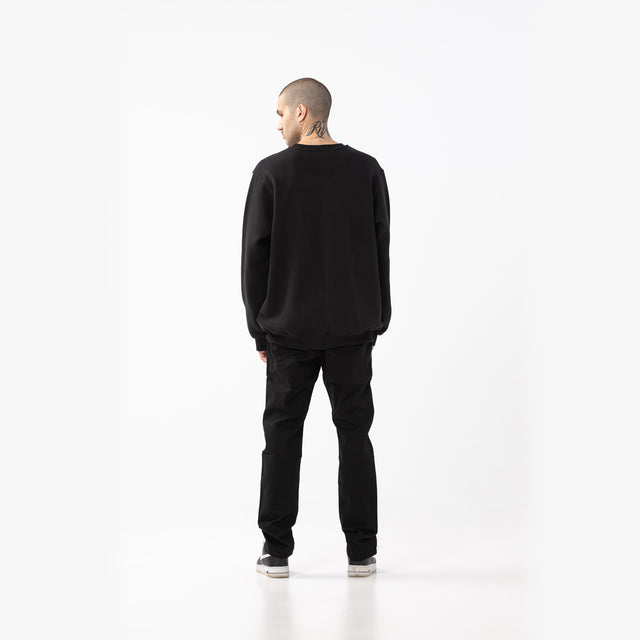 Lanee Clothing Streetwear BLACK CHINO PANTS 21