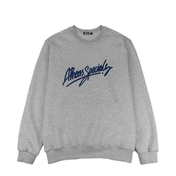 Lanee Clothing Streetwear ATHENS SPECIALS GRAY CREWNECK 18