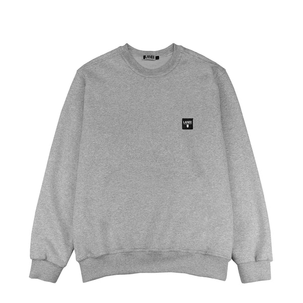 LABEL GRAY CREWNECK 18